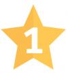stjärna, nummer ett